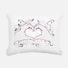 Hearthand Rectangular Canvas Pillow