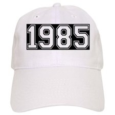 Blk 1985 Plain Year Cap