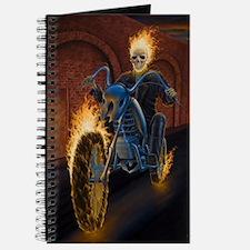 Fire Biker no text large Poster Journal