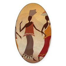 African Women Decal