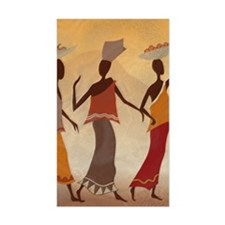African Women Decal