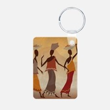 African Women Keychains