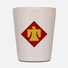 45th Infantry Division Shot Glass
