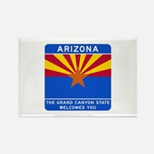 Welcome to Arizona - USA Rectangle Magnet (10 pack