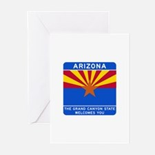 Welcome to Arizona - USA Greeting Cards (Package o