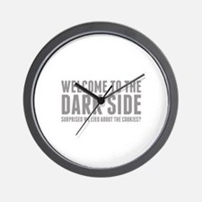 Welcome To The Dark Side Wall Clock