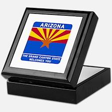 Welcome to Arizona - USA Keepsake Box