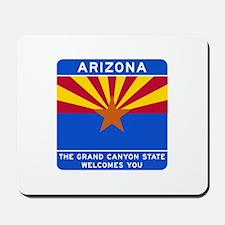 Welcome to Arizona - USA Mousepad