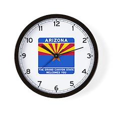 Welcome to Arizona - USA Wall Clock