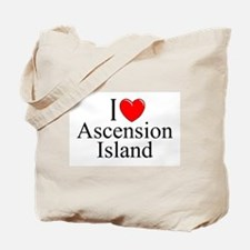 """I Love Ascension Island"" Tote Bag"