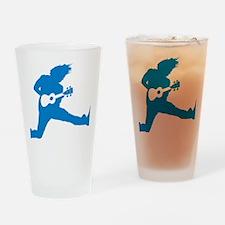 iUke Blue Drinking Glass