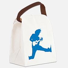 iUke Blue Canvas Lunch Bag