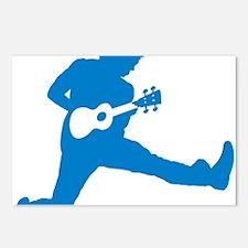 iUke Blue Postcards (Package of 8)