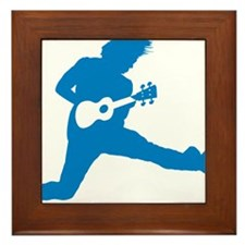 iUke Blue Framed Tile