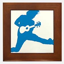 iUke Blue Framed Tile