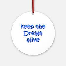 MLK's Dream Ornament (Round)