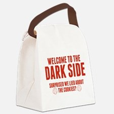Welcome To The Dark Side Canvas Lunch Bag