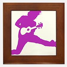 iUke Purple Framed Tile