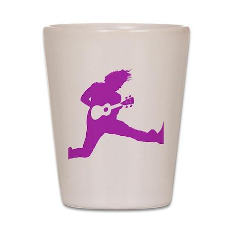 iUke Purple Shot Glass