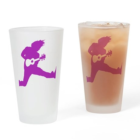 iUke Purple Drinking Glass