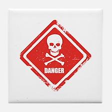 Danger Tile Coaster