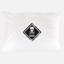 Danger Pillow Case