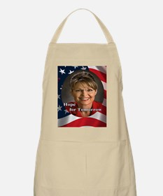 Palin_HopeForTomorrow_7x7 Apron