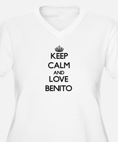 Keep Calm and Love Benito Plus Size T-Shirt