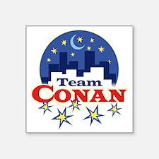"""team_conan1 Square Sticker 3"""" x 3"""""""
