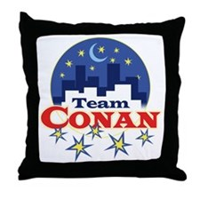 team_conan1 Throw Pillow