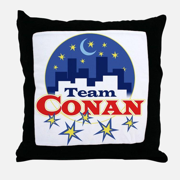team_conan1 Throw Pillow