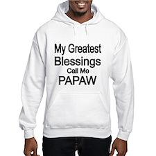 My Greatest Blessings call me PAPAW Hoodie