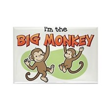 BigMonkey Rectangle Magnet