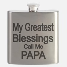 My Greatest Blessings call me PAPA Flask