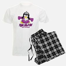 Fibromyalgia-Fighting-Penguin Pajamas