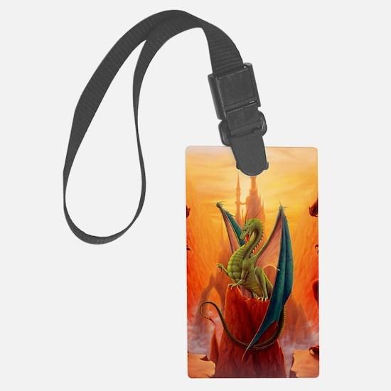 Dragon and Sentinels Luggage Tag