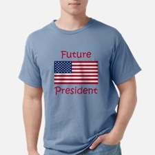 Future President USA Flag T-Shirt