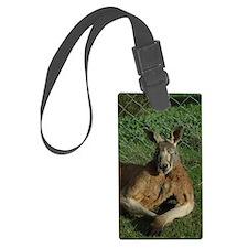 Kangaroo Luggage Tag