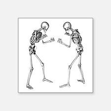 Fighting Skeletons Sticker