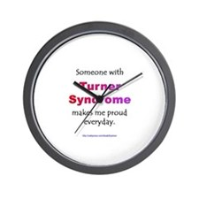 """""""Turner Syndrome Pride"""" Wall Clock"""