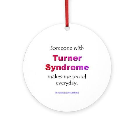 """Turner Syndrome Pride"" Ornament (Round)"