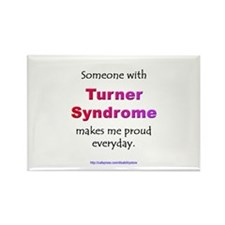 """Turner Syndrome Pride"" Rectangle Magnet"