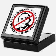 nobama blk Keepsake Box