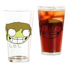 shirt design Drinking Glass
