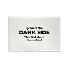 I Joined The Dark Side Rectangle Magnet