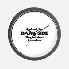 I Joined The Dark Side Wall Clock