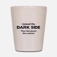 I Joined The Dark Side Shot Glass