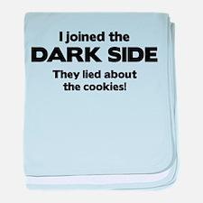 I Joined The Dark Side baby blanket