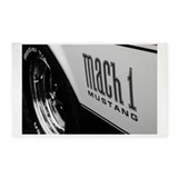 Muscle car 3x5 Rugs