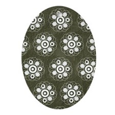 63 Oval Ornament
